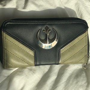 Disney Star Wars Rebel Alliance Large Wallet